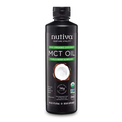 Best MCT Oil - Nutiva Organic MCT Oil Review