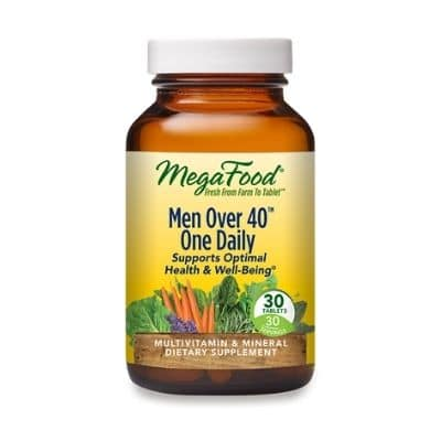 Best Multivitamin for Men - MegaFood Men Over 40 One Daily Review