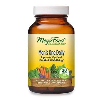 Best Multivitamin for Men - MegaFood Men's One Daily Review