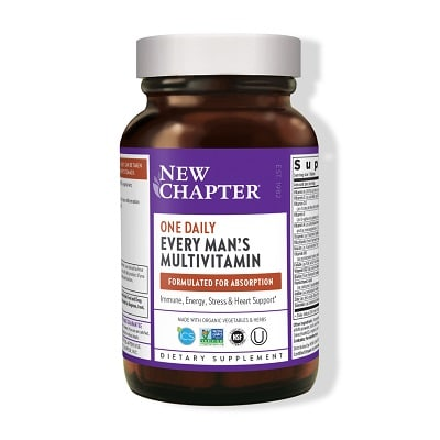 Best Multivitamin for Men - New Chapter Every Man's One Daily Multivitamin Review
