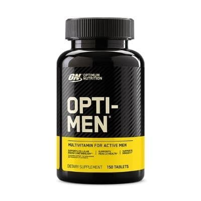 Best Multivitamin for Men - Optimum Nutrition Opti-Men Review