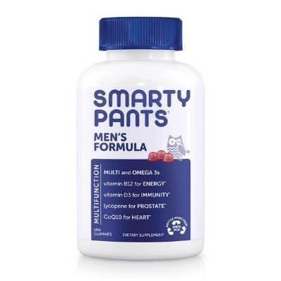 Best Multivitamin for Men - SmartyPants Men's Formula Review