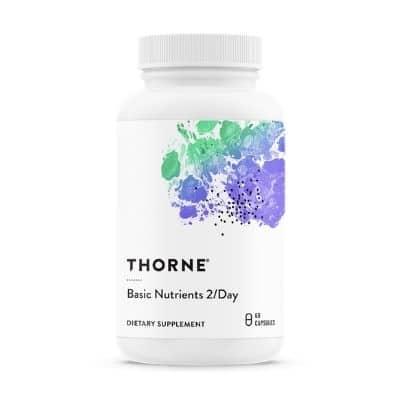 Best Multivitamin for Men - Thorne Basic Nutrients 2 Day Review
