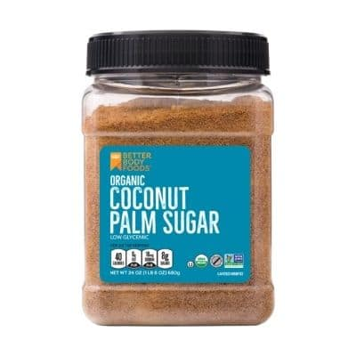 Best Sugar Substitute - Better Body Foods Organic Coconut Palm Sugar Review