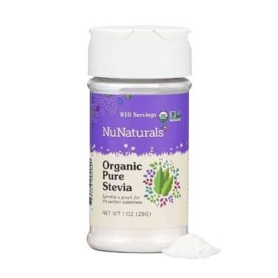 Best Sugar Substitute - NuNaturals Organic Pure Stevia Powder Review