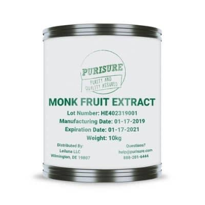 Best Sugar Substitute - Purisure Monk Fruit Extract Review