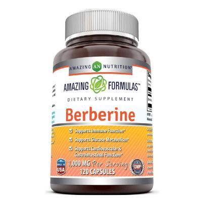 Best Berberine Supplement - Amazing Nutrition Amazing Formulas Berberine 1000 Mg Review