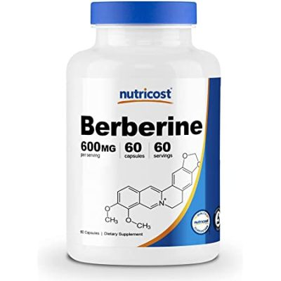 Best Berberine Supplement - Nutricost Berberine HCl 600mg Review