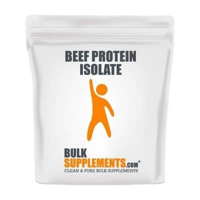 Best Paleo Protein Powder - BulkSupplements Beef Protein Isolate Review