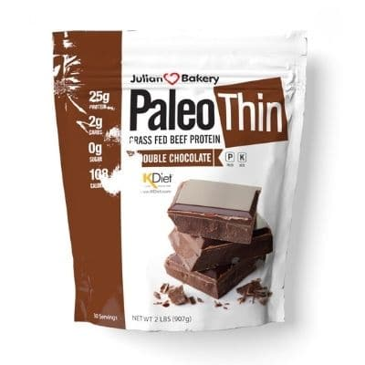 Best Paleo Protein Powder - Julian Bakery Paleo Thin Grass-Fed Beef Protein Double Chocolate Review