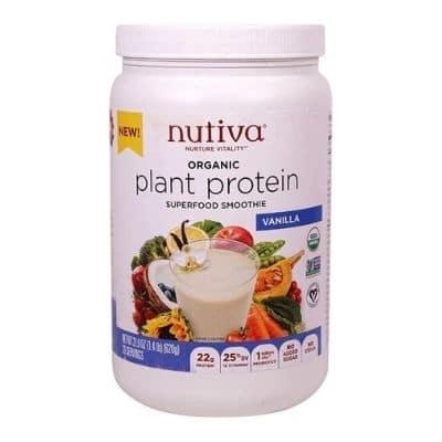 Best Paleo Protein Powder - Nutiva Organic Plant Protein Superfood Smoothie Review