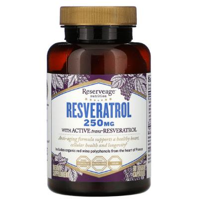 Best Resveratrol Supplement - Reserveage Nutrition Resveratrol Review