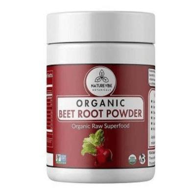 Best Beet Powder - NatureVibe Botanicals Organic Beet Root Powder Review