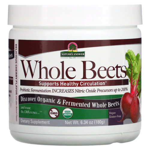 Best Beet Powder - Nature's Answer Whole Beets Review