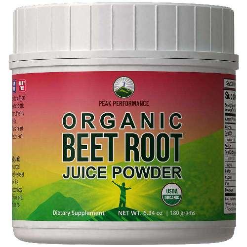 Best Beet Powder - Peak Performance Organic Beet Root Powder Review