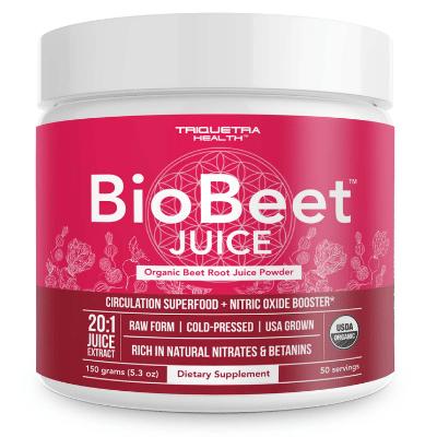 Best Beet Powder - Triquetra Health Organic BioBeet Juice Powder Review