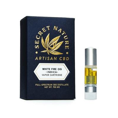 Best CBD Vape Pen - Secret Nature White Fire OG Review
